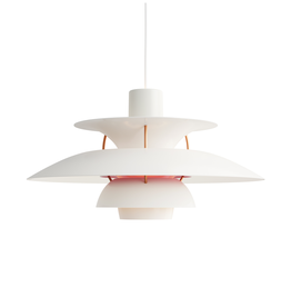 PH 5 MODERN WHITE PENDANT LAMP