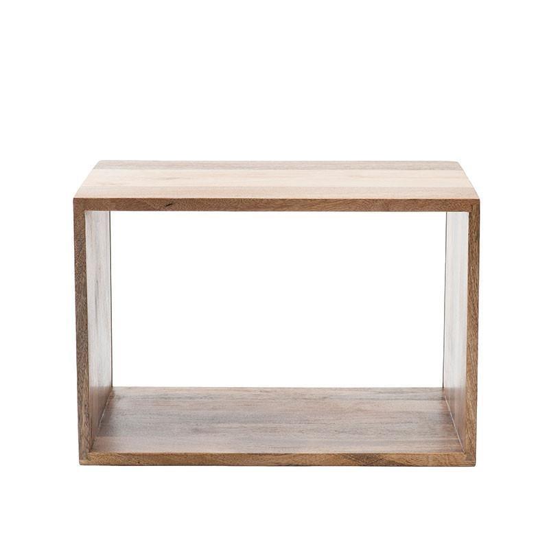 MANGO BOX SYSTEM天然芒果木色柜子 (中)