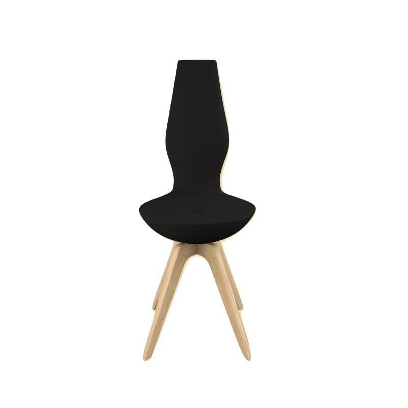 (陳列室展品) DATE 标准黑色FAME布质椅子