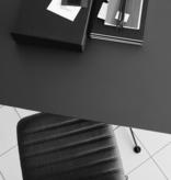 SPINAL CHAIR 44椅子连旋转基座连黑色皮革