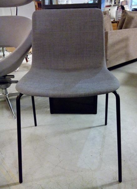 4202 PATO CHAIR, FULLY UPHOLSTERED IN FABRIC
