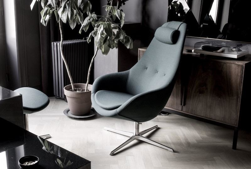KOKON LOUNGE CHAIR W/FOOTREST