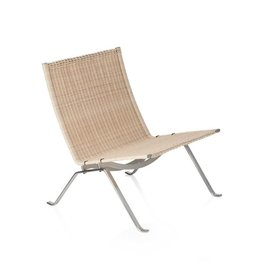 PK22 LOUNGE CHAIR IN WICKER