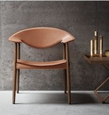 LM92 METROPOLITAN CHAIR IN SOLID WALNUT FRAME