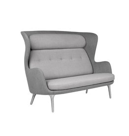 JH110 RO 2-SEATER SOFA IN WARM GREY DESIGNER COLOUR SCHEME