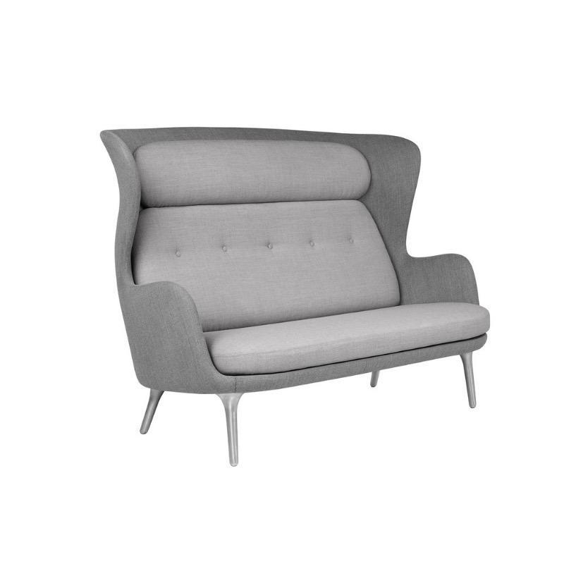 JH110 RO 温暖灰色两座位沙发