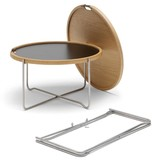CH417 TRAY TABLE IN OAK VENEER