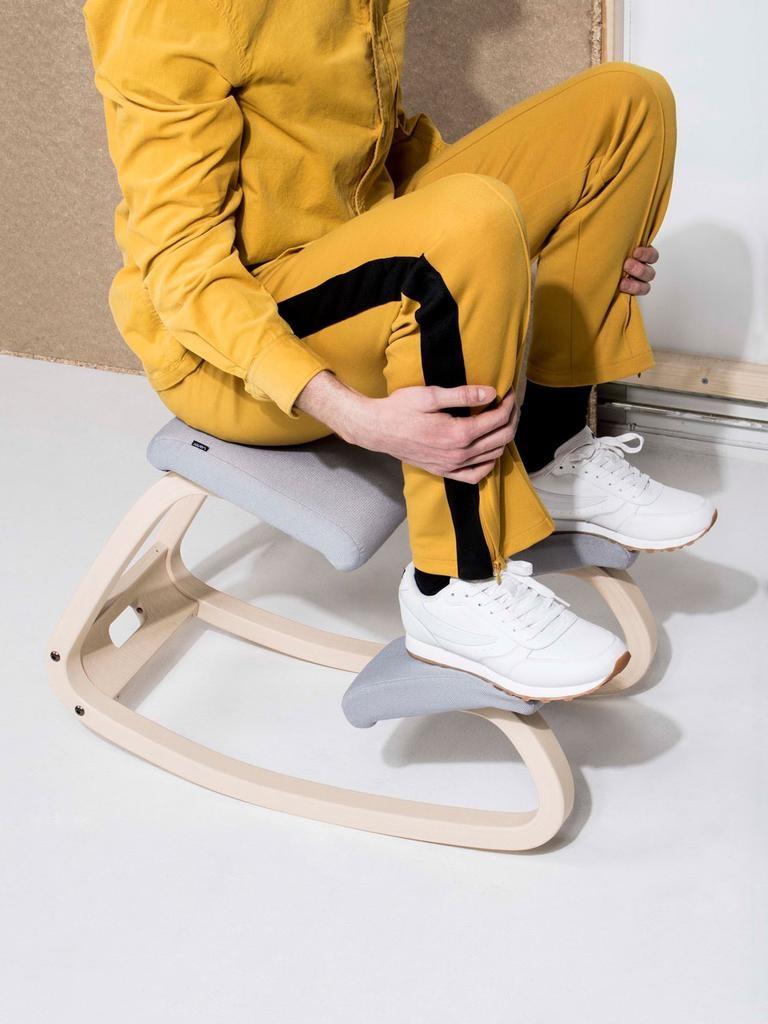 VARIABLE BALANS 灰色跪椅