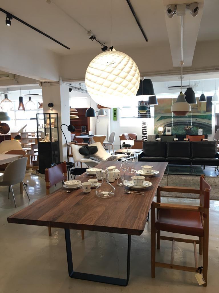 胡桃木, 橡木 及 皮革 飯廳6-8人桌椅套裝