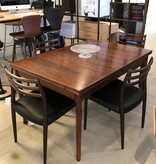 1960's PALISANDRE MOLLER DINING SUITE FOR 10 PERSONS