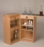 CAPTAIN'S BAR 樱桃木酒柜