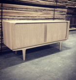 142 SIDEBOARD IN OAK WHITE OIL FINISH