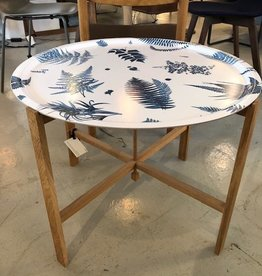 65CM ROUND TRAY WITH FOLDABLE TRAY STAND
