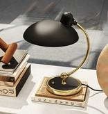 KAISER IDELL LUXUS TABLE LAMP IN MATT BLACK