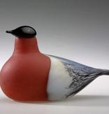 BIRDS BY TOIKKA 红腹灰雀玻璃鳥