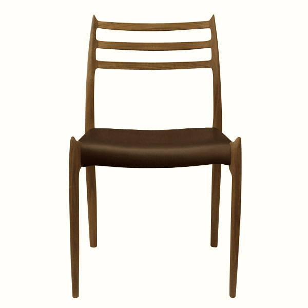 MODEL 78 MOLLER CHAIR IN WALNUT