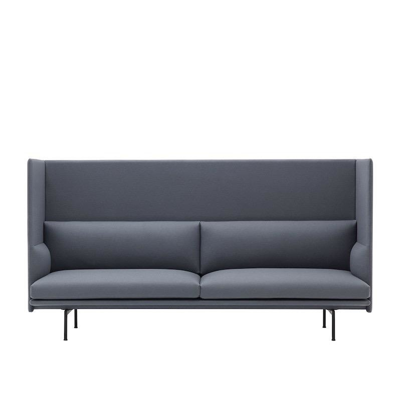 28488 OUTLINE HIGHBACK 3-SEATER SOFA