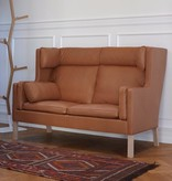 2292 MOGENSEN COUPE SOFA IN LEATHER