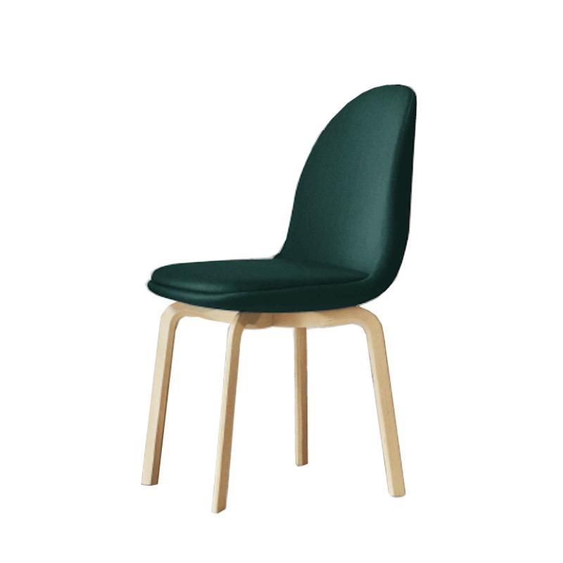 JH20 SAMMEN 深綠色布料坐墊餐椅