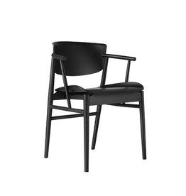 N01 黑色扶手椅