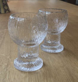 PAIR OF KEKKIRIT LIQUEUR GOBLETS