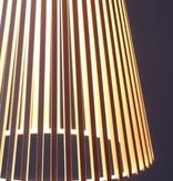 SECTO 4201 PENDANT LAMP IN WALNUT