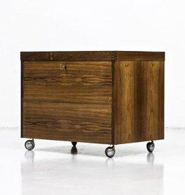 1960's PALISANDRE有輪可移動酒櫃