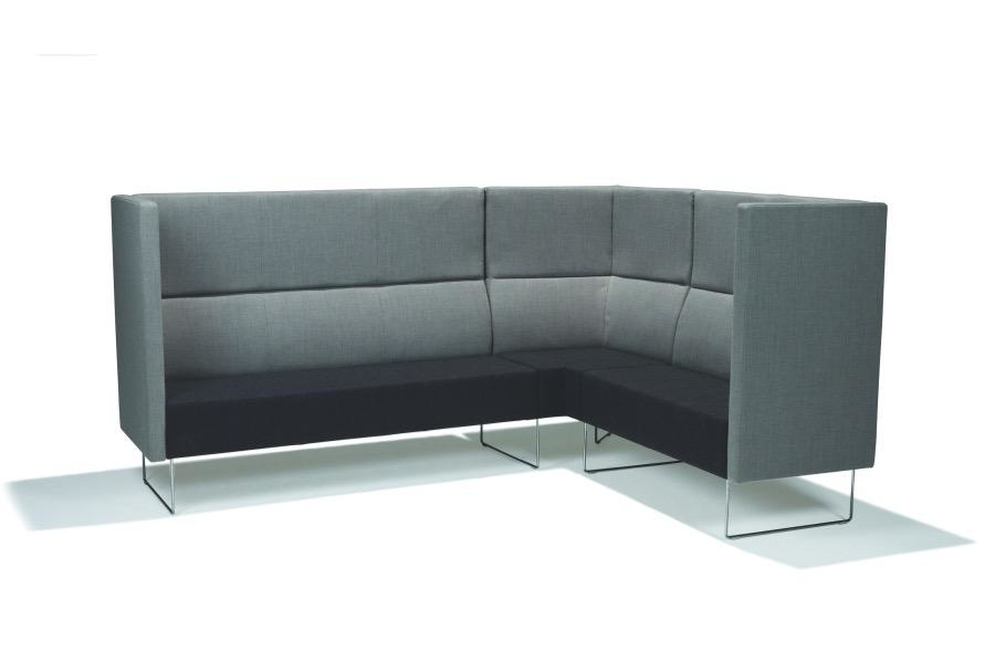 PIVOT CAVE EXTRA HIGH 3 SEATER SOFA