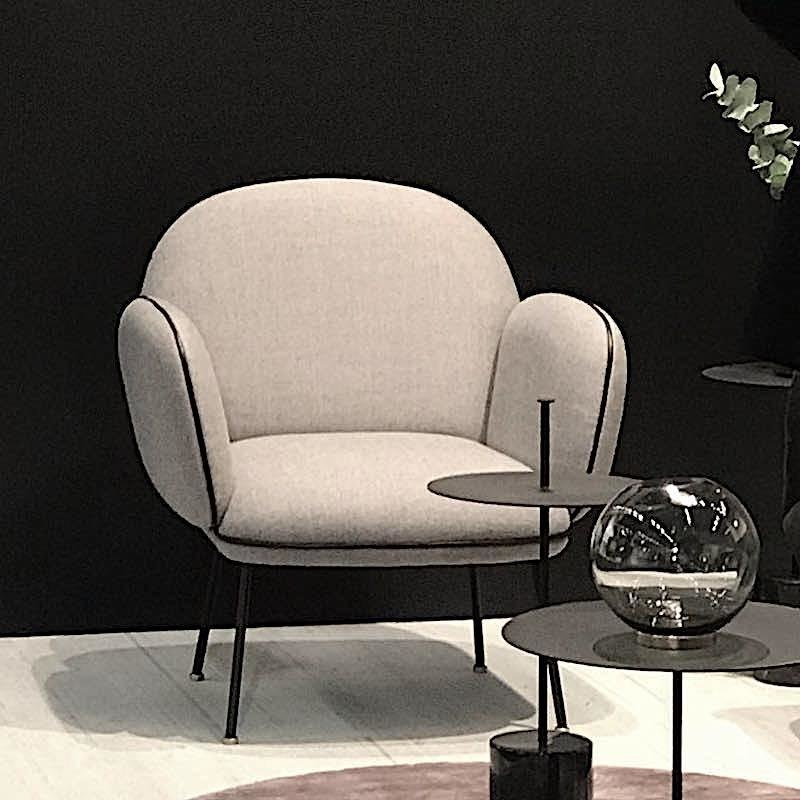 OLLIE LOUNGE CHAIR IN DUSTY GREY