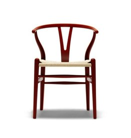(SHOWROOM ITEM) CH24 WISHBONE CHAIR IN COLOR LACQUER FINISH