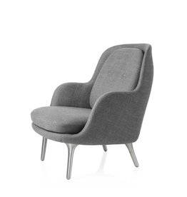 JH4 FRI EASY CHAIR IN ALUMINIUM LEGS