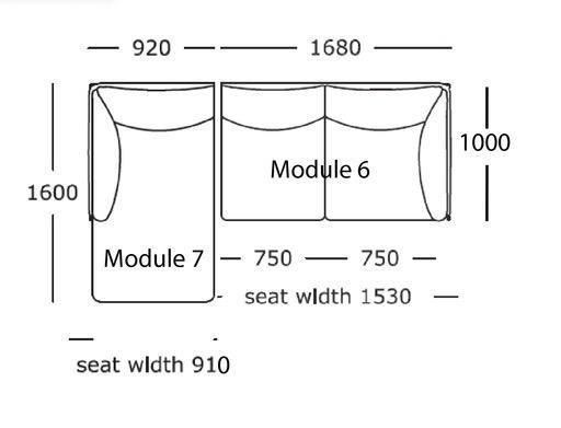 KITE L型沙發