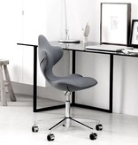 ACTIVE 深灰色可调高度的旋转椅子