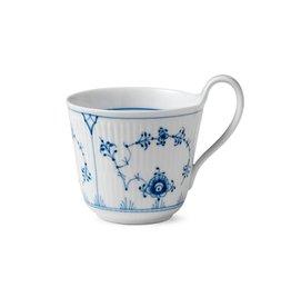 ROYAL COPENHAGEN BLUE FLUTE PLAIN HIGH HANDLE CUP, 33CL