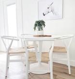 CH24 限量版椅子, 柔和白色帶簽名的特殊版
