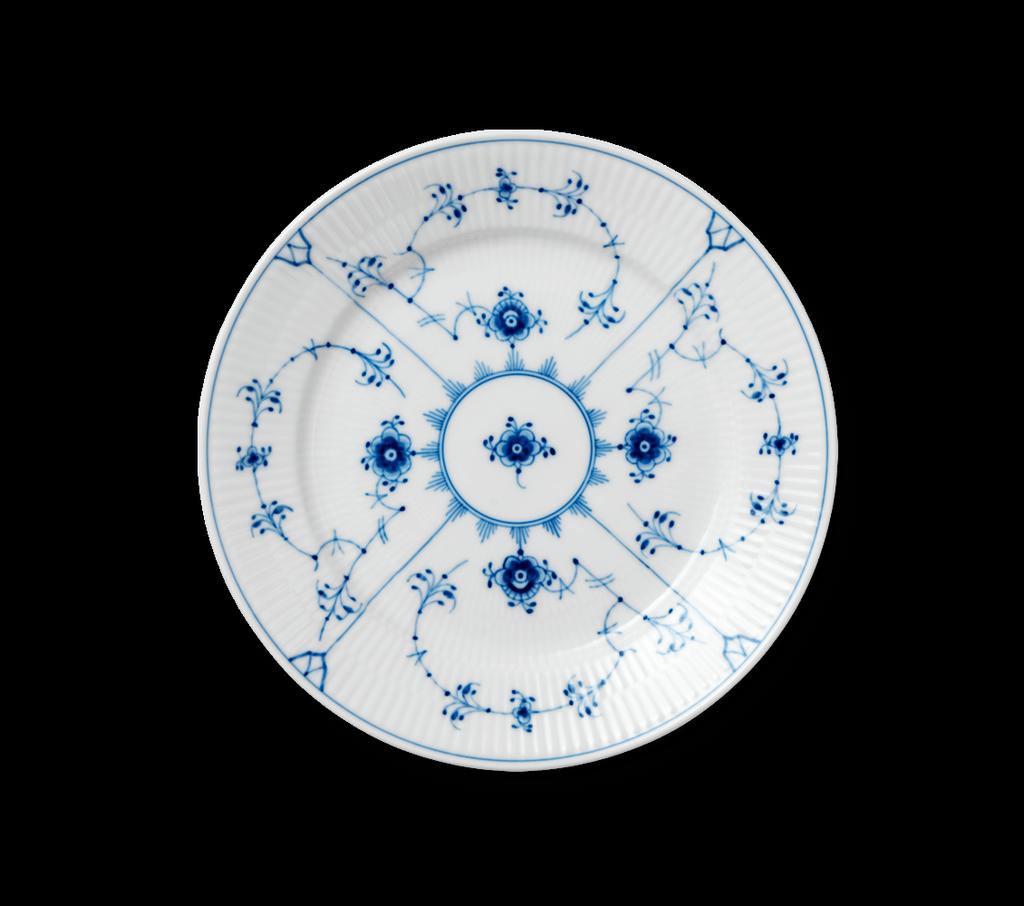 ROYAL COPENHAGEN BLUE FLUTE PLAIN TABLEWARE