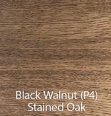 KILT OPEN STORAGE UNIT IN P4 BLACK WALNUT OAK
