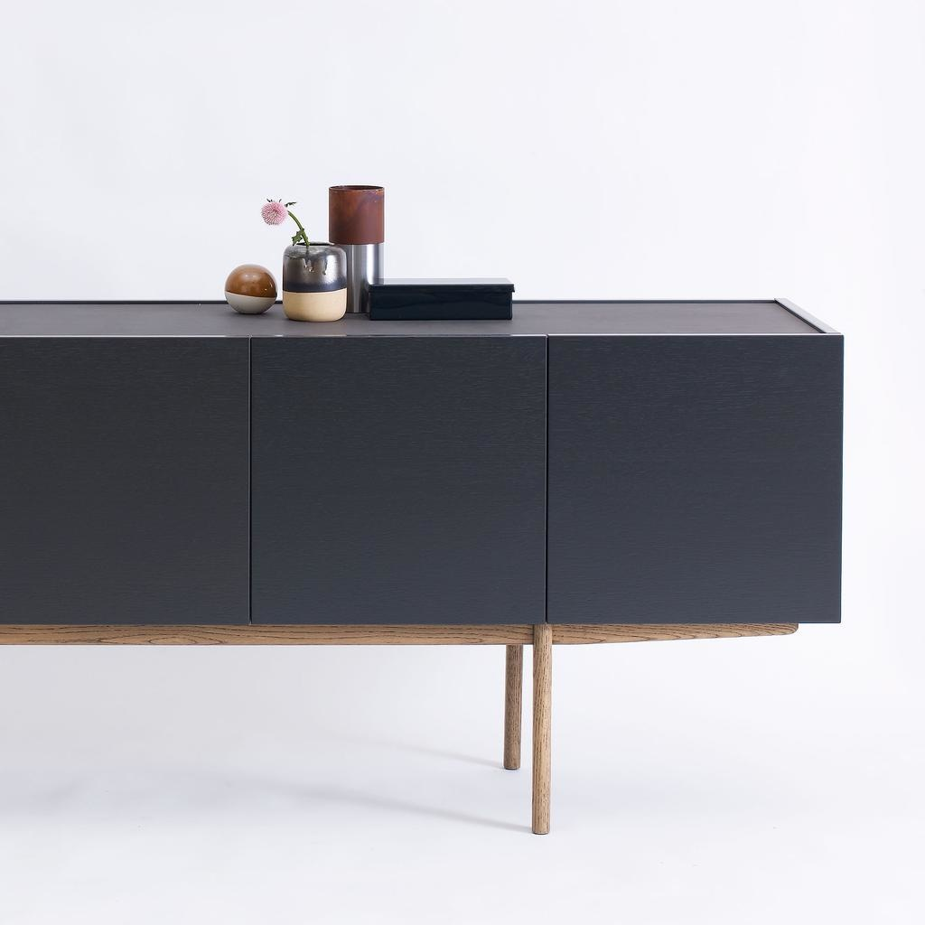 LUC DELUXE 200 SIDEBOARD IN CHAR GREY