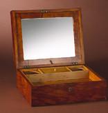 LARGE SATIN BIRCH BOX 大型缎面桦木盒连钥匙扣工具包