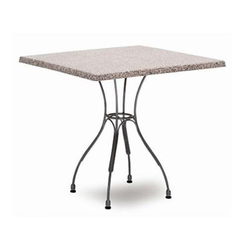 ATLAS TABLE, VERSALITE GREY SQUARE TOP