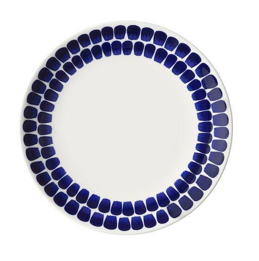 24H TUOKIO FLAT PLATE, COBALT BLUE, 26CM