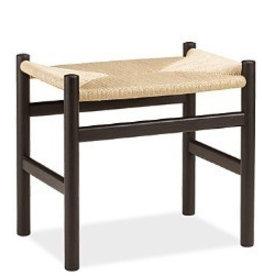 CH53櫸木藤編踏腳凳