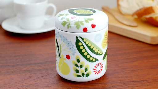 KULINARA 陶瓷罐连盖子 0.4公升