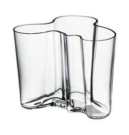 AALTO VASE, CLEAR, 160 MM