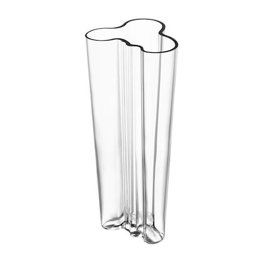 AALTO VASE 透明玻璃花瓶 (高255毫米)