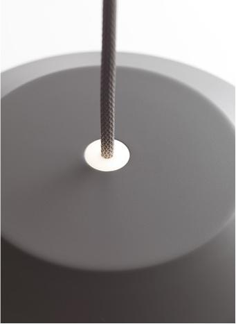 MINGUS 1  近黑色啞光漆鋁吊灯