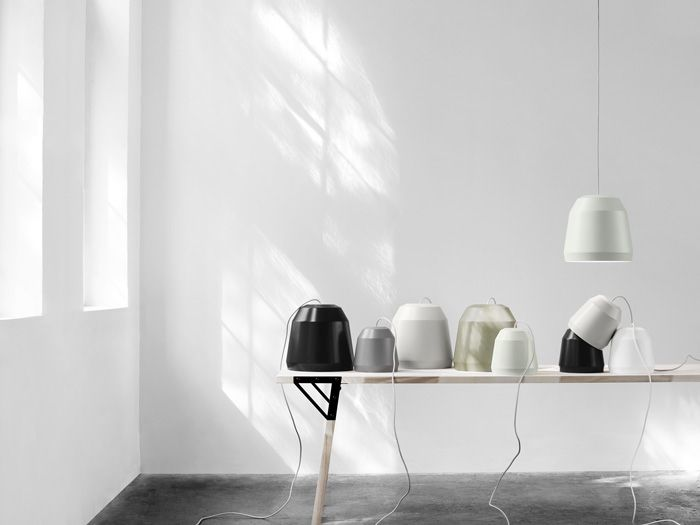 MINGUS 1 ALUMINIUM PENDANT LIGHT, NEARLY BLACK MATT LACQUER,