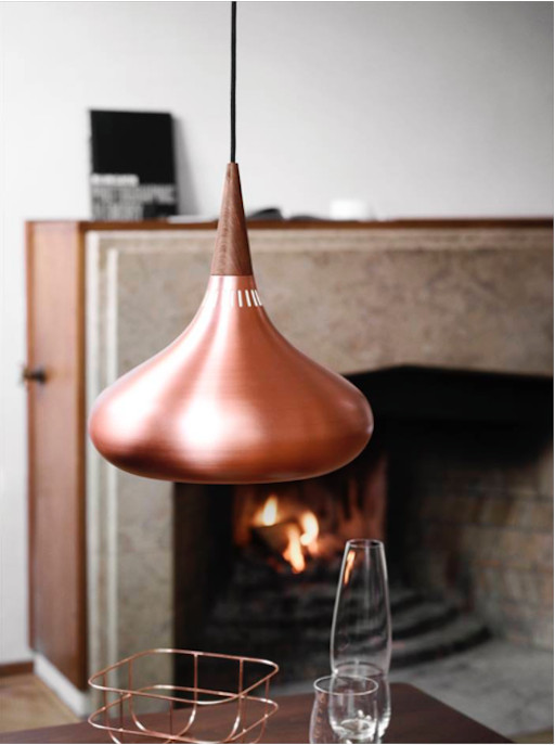 ORIENT P1 PENDANT IN POLISHED COPPER