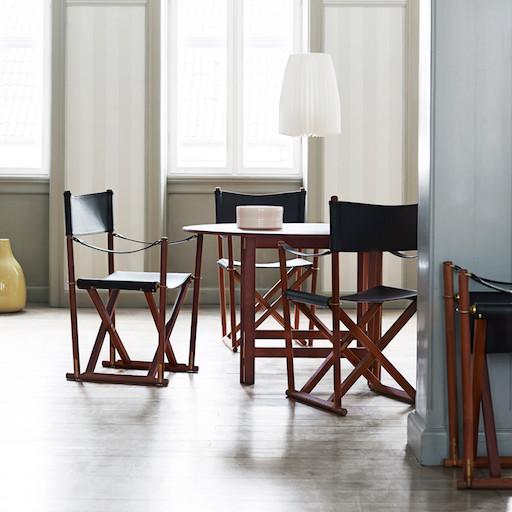 (陳列室展品) MK99200 皮革折疊椅