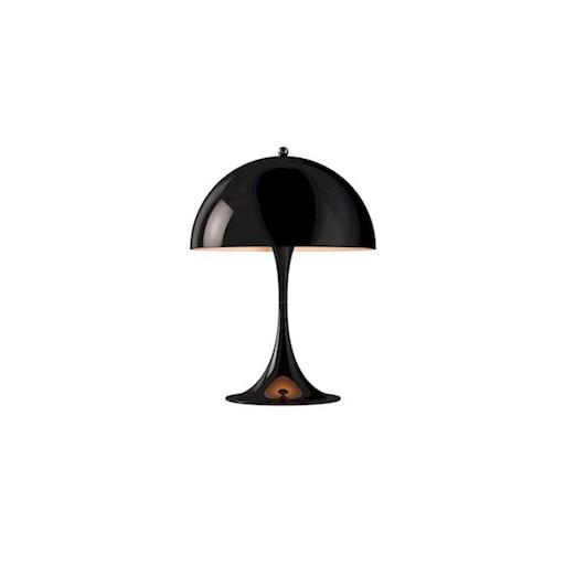 PANTHELLA LED MINI TABLE LAMP IN BLACK
